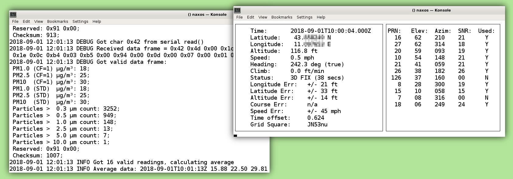 Rapsberry Pi Air Quality Station - Ham Radio - Hackers - Makers